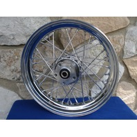 """16"""" X 3""""  40 SPOKE FRONT  WHEEL FOR HARLEY FATBOY & HERITAGE 84-99"""