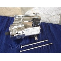 FOR HARLEY SOFTAIL TOURING DYNA CHROME ANGLED POST STARTER 1.4 KW PARTS