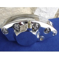 CHROME BRAKE CALIPER ASSEMBLY FOR HARLEY SHOVELHEAD 1973-80 REPL # 44008-80