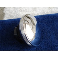 CHROME  STEEL  LATE STYLE  GAS CAP  FOR  HARLEY 1982-1995 REPLACES OE # 61103-83