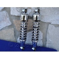 CHROME PLATED LOWERING SHOCKS FOR HARLEY DAVIDSON FXR REPLACES  OE   #  54568-92