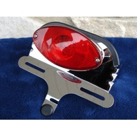 CATEYE TAILLIGHT/BRACKET FOR HARLEY FXWG & FXST 1980-04