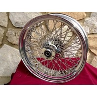 "KCINT 18X5.5"" 80 SPOKE REAR WHEEL 180 TIRE  HARLEY KRAFT TECH CHOPPER FRAMES"