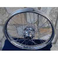 "HIGH QUALITY 21X2.15"" 40 SPOKE FRONT WHEEL HARLEY SOFTAIL DYNA WIDE GLIDE"