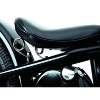 """CHROME 3"""" SEAT SPRINGS BOBBER SEAT FOR HARLEY CHOPPERS"""