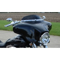 CHROME CUSTOM OVAL BILLET MIRRORS FOR HARLEY TOURING BOBBERS AND CHOPPERS
