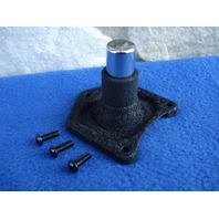 BLACK SOLENOID COVER STARTER BUTTON SWITCH FOR 1991-UP HARLEY STARTERS