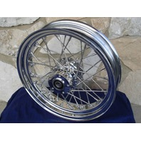 "16"" X 3.5"" 40 SPOKE FRONT WHEEL FOR HARLEY ROAD KING ALL TOURING 00-05"
