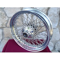 """16X3.5"""" DNA 80 SPOKE FRONT WHEEL 2007-UP FOR HARLEY HERITAGE FAT BOY DELUXE"""