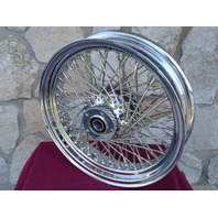 "16X3.5"" 80 SPOKE REAR WHEEL FOR HARLEY FXST HERITAGE FAT BOY DELUXE 2000-2005"