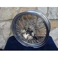 """16X5.5"""" 80 SPOKE DNA WIDE CUSH HUB REAR WHEEL FOR HARLEY TOURING 09-UP WITH ABS"""
