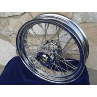 "18"" X 3.5"" 40 SPOKE FRONT WHEEL FOR HARLEY ROAD KING & ALL TOURING 84-99"