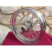 "18"" X 3.5"" 40 SPOKE FRONT WHEEL FOR HARLEY ROAD KING 2000-05"