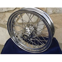 "18"" X 3.5"" 40 SPOKE FRONT WHEEL FOR HARLEY HERITAGE FATBOY"
