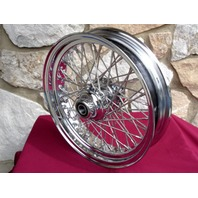 """18X3.5"""" DNA 60 SPOKE FRONT WHEEL 2007-UP FOR HARLEY HERITAGE DELUXE FAT BOY"""