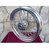 """18"""" X 3.5"""" 60 SPOKE KCINT DNA REAR WHEEL FOR HARLEY ROAD KING TOURING 84-99"""
