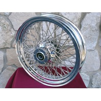 "18X3.5"" 80 SPOKE DNA KCINT REAR WHEEL HARLEY FXST HERITAGE DELUXE FATBOY 2000-07"