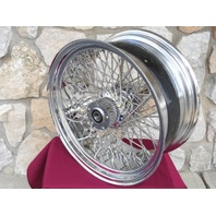 "80 SPOKE KCINT WHEEL 18X8.5"" WIDE ASS FOR HARLEY 240 250 TIRE CHOPPERS"
