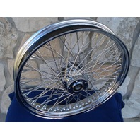 """21X3"""" 60 SPOKE SPECIAL S/D FRONT WHEEL 08-UP FOR BAGGER STREET GLIDE ROAD KING"""