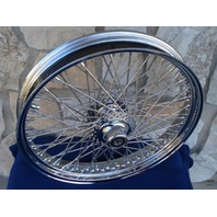 "21X3.5"" 80 SPOKE FRONT WHEEL 2000-06 FOR HARLEY DELUXE HERITAGE FAT BOY"