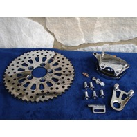 DNA SPOKE 48T BRAKE ROTOR CALIPER SPROCKSTER FOR HARLEY CUSTOM CHOPPER