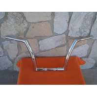 "14"" CHROME DNA MONSTER  FAT APE HANGER BARS 1-1/2"" HARLEY HANDLEBARS 1982 & UP"