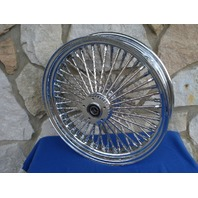 """16X3.5"""" DNA MAMMOTH 52 DIAMOND SPOKE FRONT WHEEL FOR HARLEY TOURING 1984-99"""