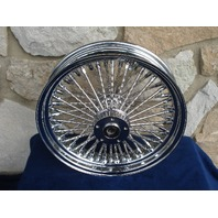 """16X3.5"""" DNA MAMMOTH 52 SPOKE REAR WHEEL FOR HARLEY 84-99 SOFTAIL HERITAGE FXST"""