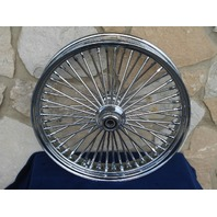 """18X3.5"""" DNA MAMMOTH 52 SPOKE FRONT WHEEL HARLEY FATBOY HERITAGE DELUXE 00-06"""