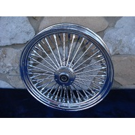 18X3.5 DNA FAT DADDY MAMMOTH 52 DIAMOND SPOKE FRONT HARLEY DELUXE HERITAGE 00-06