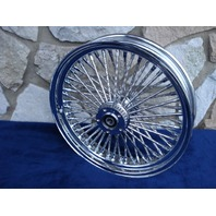 "18X4.25"" DNA MAMMOTH 52 DIAMOND SPOKE REAR WHEEL FOR 2008 ONLY HARLEY ROAD KING TOURING & BAGGERS"