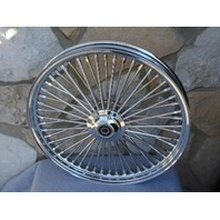 """21X2.15"""" DNA MAMMOTH 52 DIAMOND SPOKE FRONT WHEEL FOR HARLEY SPORTSTER DYNA NG"""