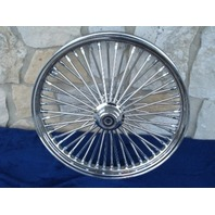 """21X2.15"""" DNA MAMMOTH 52 SPOKE FRONT WHEEL FOR HARLEY DYNA MID GLIDE 04-05"""