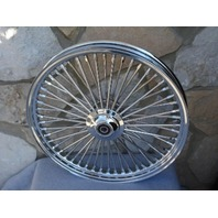 """21X2.15"""" DNA MAMMOTH 52 SPOKE FRONT WHEEL FOR HARLEY SPORTSTER DYNA NG 08-UP"""
