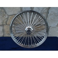 """21X3.5"""" DNA MAMMOTH 52 SPOKE FRONT WHEEL FOR HARLEY DELUXE HERITAGE FATBOY 84-99"""