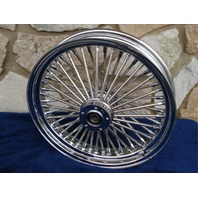 "21X3.5"" DNA 08-UP ABS MAMMOTH 52 FAT SPOKE FRONT WHEEL FOR HARLEY TOURING BAGGER"