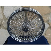 """21X3.5"""" DNA MAMMOTH FAT DADDY 08-UP 52 SPOKE WHEEL HARLEY  TOURING BAGGERS"""