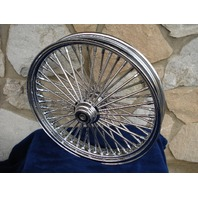 """21X3.5"""" DNA FAT MAMMOTH 52 SPOKE S/D FRONT WHEEL FOR HARLEY BAGGERS 00-07"""
