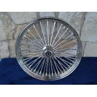 "21X3.5"" DNA MAMMOTH 52 DIAMOND SPOKE FRONT FOR HARLEY SOFTAIL FXST"