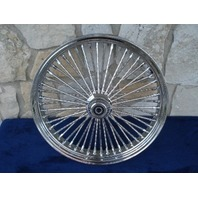 """23X3.5"""" DNA MAMMOTH 52 DIAMOND SPOKE S/D FRONT WHEEL FOR HARLEY TOURING 2000-07"""