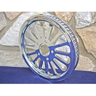"""70 TOOTH 1 1/8""""  DNA SPOKE REAR PULLEY FOR HARLEY & CHOPPERS"""