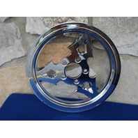 """70 TOOTH 1 1/8"""" DAGGER REAR PULLEY FOR HARLEY & CUSTOM CHOPPERS"""