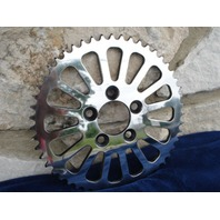 51 TOOTH SPOKE REAR POLISHED STAINLESS SPROCKET FOR HARLEY CHOPPER