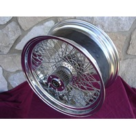 """18"""" X 8.5"""" 80 SPOKE REAR WHEEL PARTS FOR HARLEY CUSTOMS FOR 240 250 TIRE"""