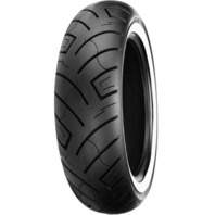 "130/90-16 SHINKO 777 HD WHITEWALL FRONT TIRE FOR 16"" RIMS"