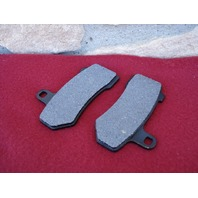 BRAKE PADS FOR POLISHED ROTORS HARLEY TOURING 2008 & UP REPLACES OE  #  41854-08