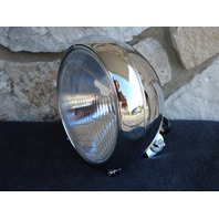 KCINT CHROME RIBBED HEADLIGHT FOR HARLEY HERITAGE FATBOY 1986-2004