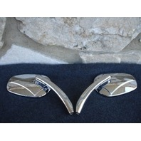 FOR HARLEY CUSTOM BILLET CHROME MIRRORS  PARTS
