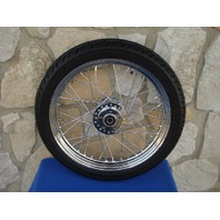 "19"" FRONT WHEEL TIRE KIT FOR HARLEY DAVIDSON DYNA SPORTSTER NARROW GLIDE"