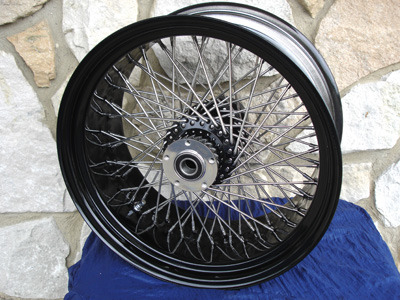 16x3 Quot 80 Spoke Wheel Set For Harley Fatboy Heritage 84 99